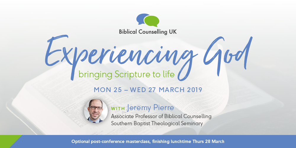 Residential Conference 2019 Resources – Biblical Counselling UK